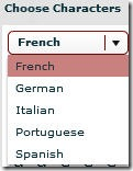 Languages available